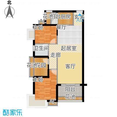19、22-23栋标准层03、04房C户型