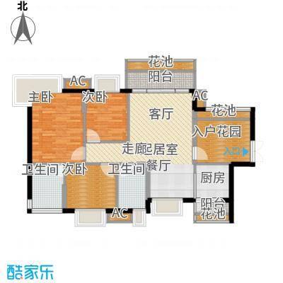 1-6、11-12栋标准层01、02房D户型