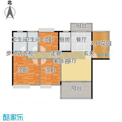 富盈WO城122.00㎡3栋1、2单元01、0标准层天秤座户型3室1厅2卫1厨