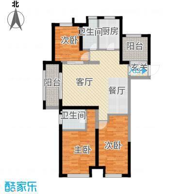 苏宁天�御城143.00㎡户型3室1厅2卫