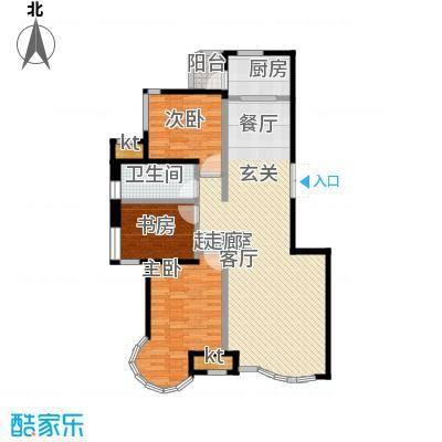 瑞仕尚城二期和平道104.00㎡C户型3室2厅1卫