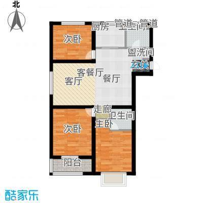 榕城世家110.37㎡F户型3室2厅2卫