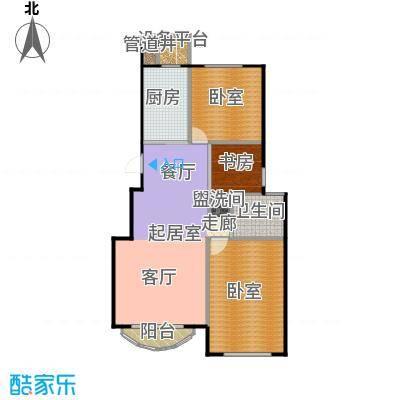 润德北京公园户型1室1卫1厨