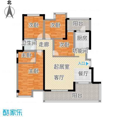 港腾御景江山户型5室1卫1厨