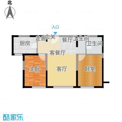 金地檀溪18层-2户型1室1厅1卫1厨