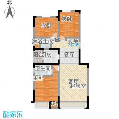 中海紫御江城中海・紫御江城盛景B1三室两厅两卫132平米户S