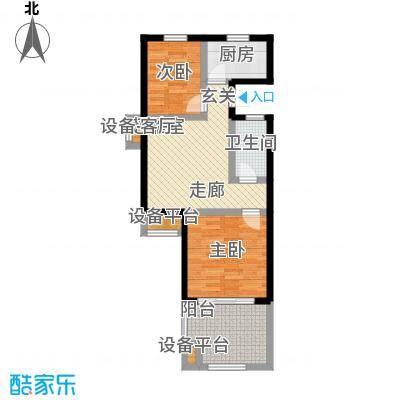 山泉海山泉海二期B1-1D户型图户型1室1厅1卫