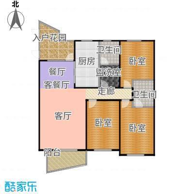 东辰清风港146.00㎡C户型3室2厅2卫
