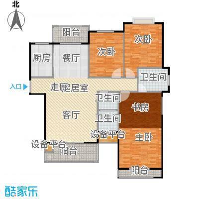 锦天・生态城138.06㎡K户型3室2厅2卫