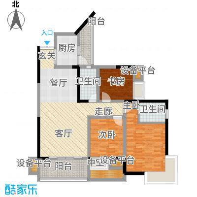 华宇北国风光(二期)华宇北国风光户型图户型