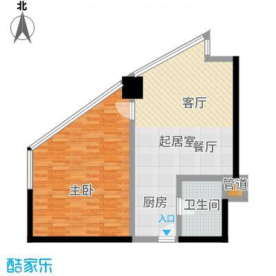 中海龙港(BOBO国际)62.02㎡67.94户型