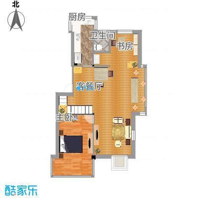 西堤阳光户型图1楼