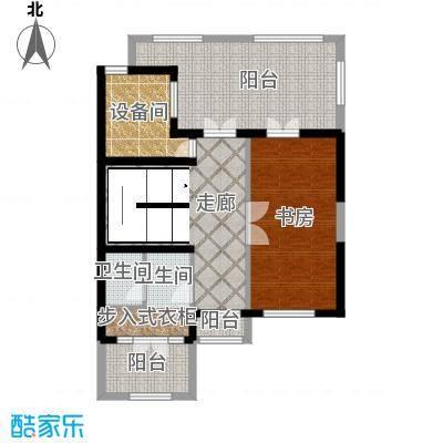 融科・千章墅88.54㎡叠墅DD休闲层户型10室