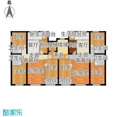 首旅・紫峰九院城通州于家务自住型商品房135.00㎡户型4室2厅2卫
