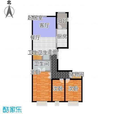 永昌・维多利亚广场H1户型3室3卫1厨