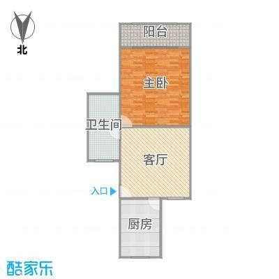 龙柏七村户型图