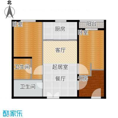 上东8号103.30㎡1#G户型3室2厅2卫