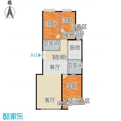 中海凯旋179.56㎡三室二厅二卫户型