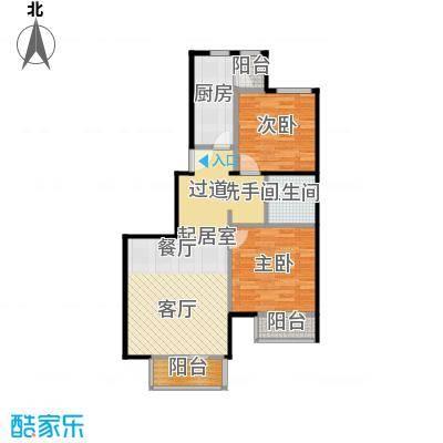 期颐百年91.11㎡15号楼4单元01二室户型10室