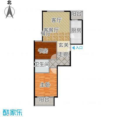 建邦枫景B2反户型2室1厅1卫1厨