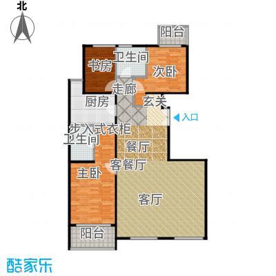 建邦枫景C1反户型3室1厅2卫1厨