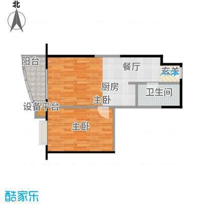 远中悦麒会馆61.09㎡A4户型一居室户型