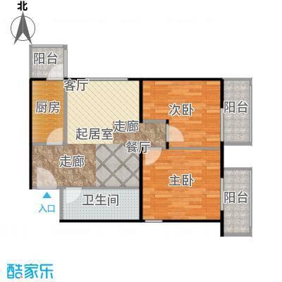晶城秀府68.50㎡A14十五至二十层户型10室