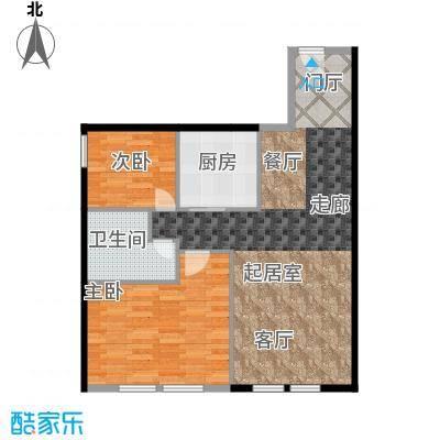 CUV国际公寓103.58㎡A户型10室
