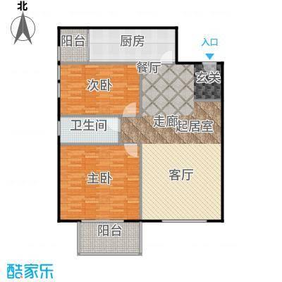 晶城秀府112.00㎡平层A2户型10室