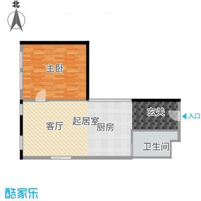 CUV国际公寓89.67㎡R户型10室