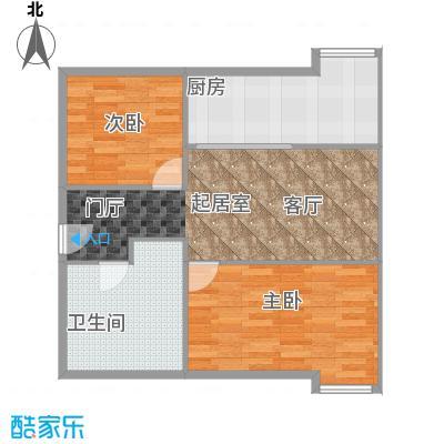 CUV国际公寓95.15㎡B1户型10室