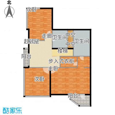 元嘉国际公寓(钛度)229.74㎡跃居三层之一层户型