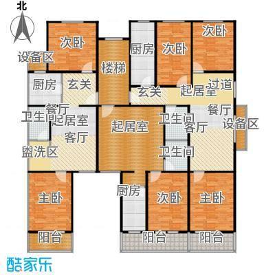 兴隆家园59.92㎡一居室户型