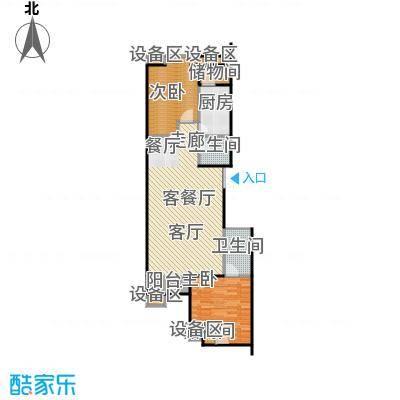 西成忆树13号楼二单元02户型