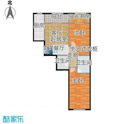 京汉铂寓(石景山)112.00㎡E、E反户型10室