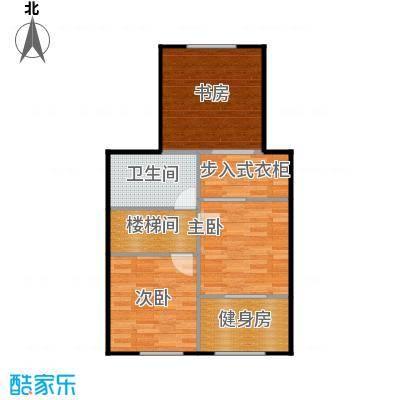 京汉铂寓(石景山)59.00㎡F2\\\'2层1户型10室