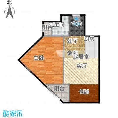 京汉铂寓(石景山)68.00㎡G、G反户型10室