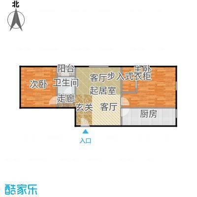 京汉铂寓(石景山)89.00㎡I户型10室