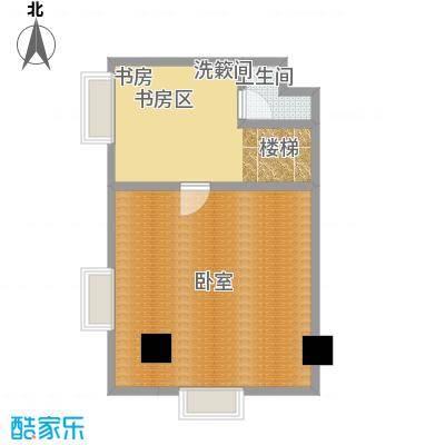 CRD银座尊贵变幻空间二层户型1室1卫