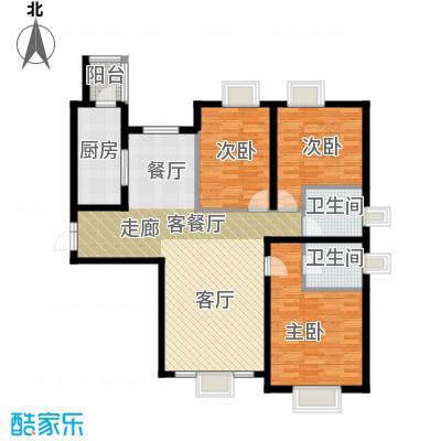 茂华�都会118.70㎡3e三居户型10室