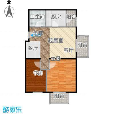 晶城秀府66.94㎡A11三至十三层户型10室