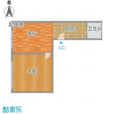 CUV国际公寓72.32㎡S户型10室