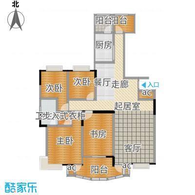 美堤雅城(一期)130.92㎡房型: 四房; 面积段: 130.92 -130.92 平方米;户型