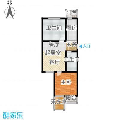 泰鑫嘉苑78.15㎡户型10室