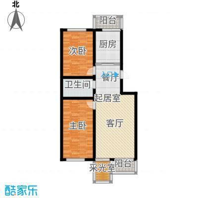 泰鑫嘉苑97.61㎡户型10室