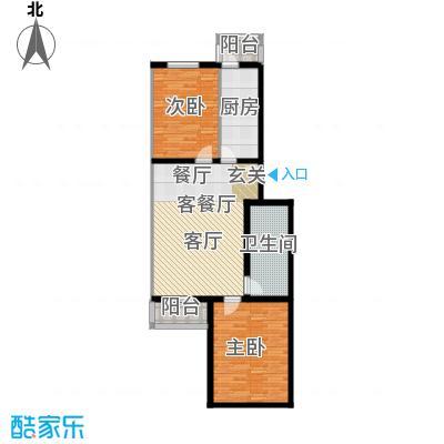 金鑫苑小区91.36㎡户型10室