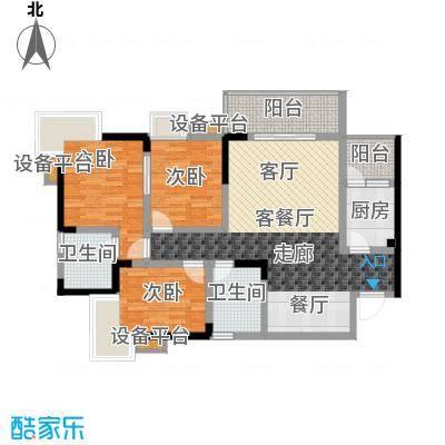 达飞・彩云小城94.97㎡房型: 三房; 面积段: 94.97 -94.97 平方米;户型