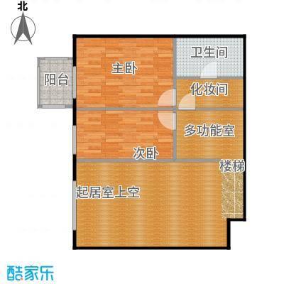 晶城秀府83.44㎡跃层A1上层户型10室