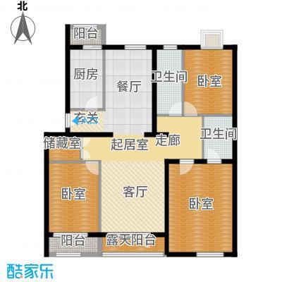 阿尔法社区135.00㎡二期花园洋房东4、5层户型10室