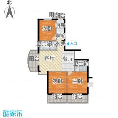 翠福园(翠福星城)138.00㎡三期19、20号楼a1户型10室